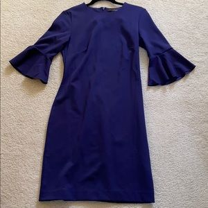 Banana Republic Navy Business Dress